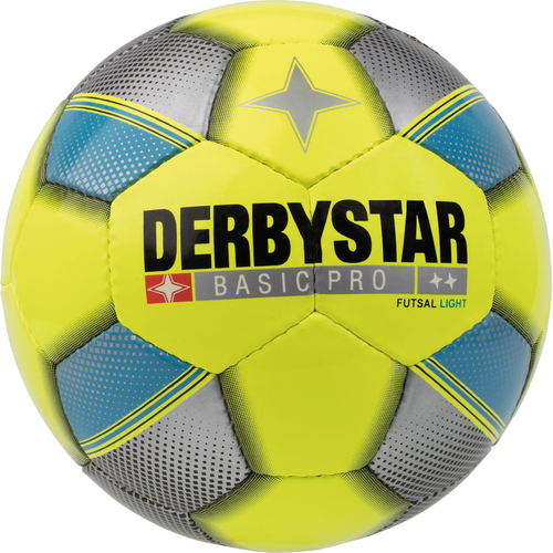 Derbystar Basic Pro Light Futsal Trainingsball - gelb - Größe 4