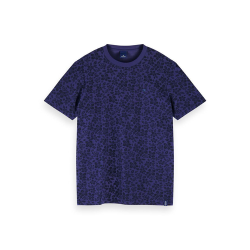 Scotch & Soda T-Shirt mit Allover-Print - 155403-0461